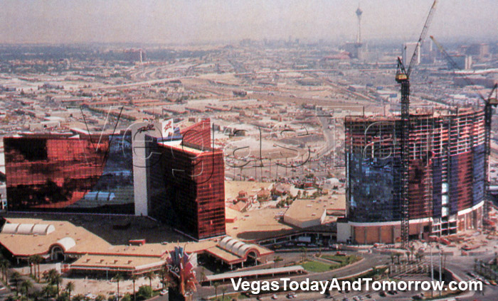 Vintage Vegas Construction Photos