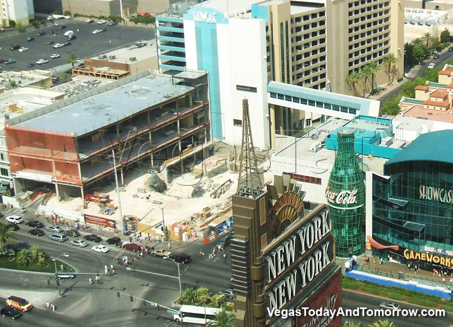 Current las vegas strip construction