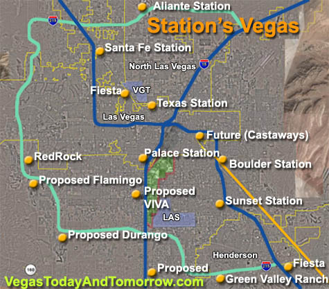 Station casino properties